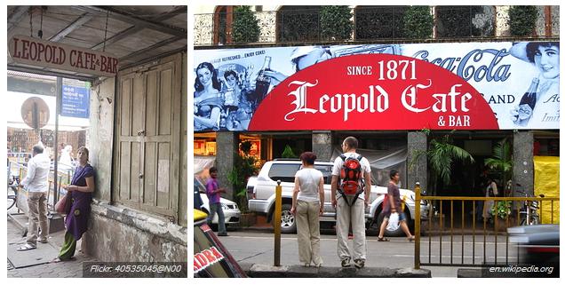 Leopold Cafe - tarihi mekanlar
