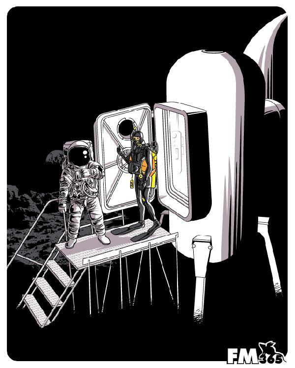 astronot-uzay-yaratici-tasarim