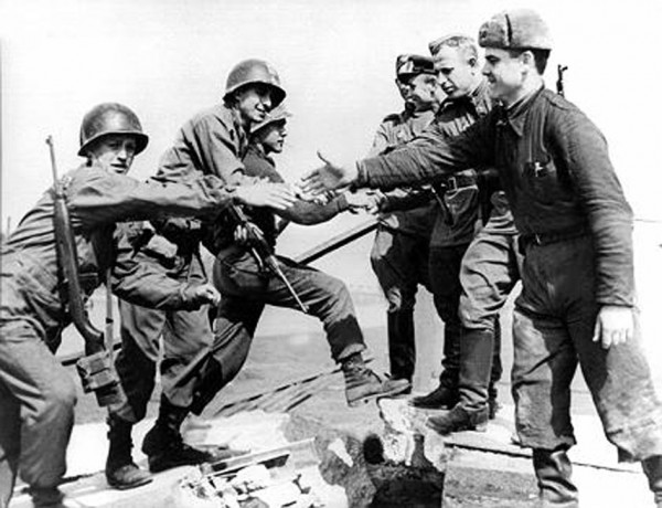 Zweiter Weltkrieg - Treffen bei Torgau