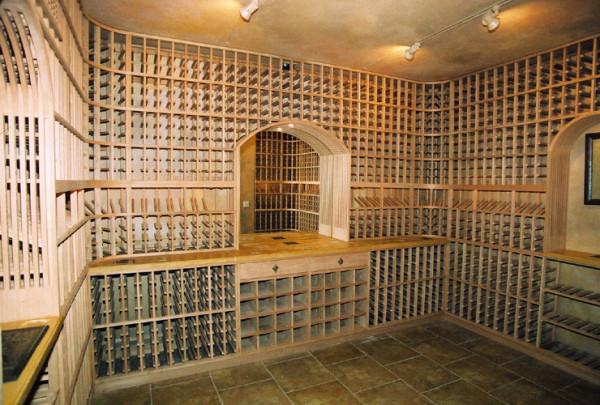 eski tasarımlı şarap mahzenleri