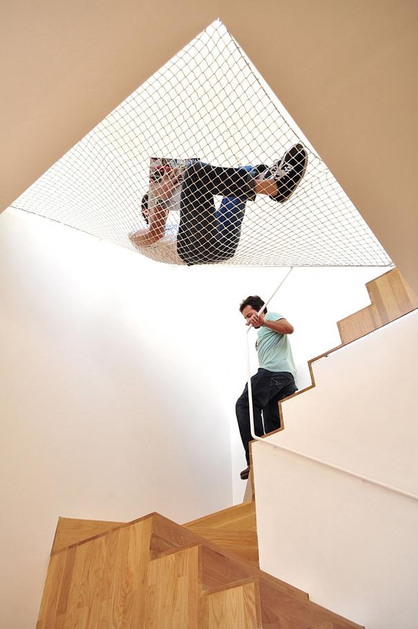 fileli merdiven ev tasarımı