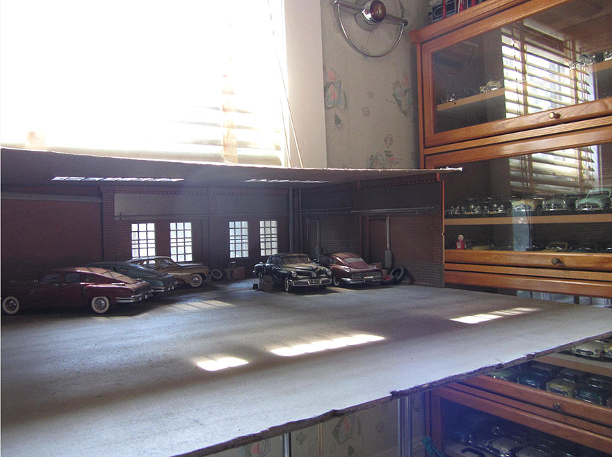 garaj klasik arabalar orj