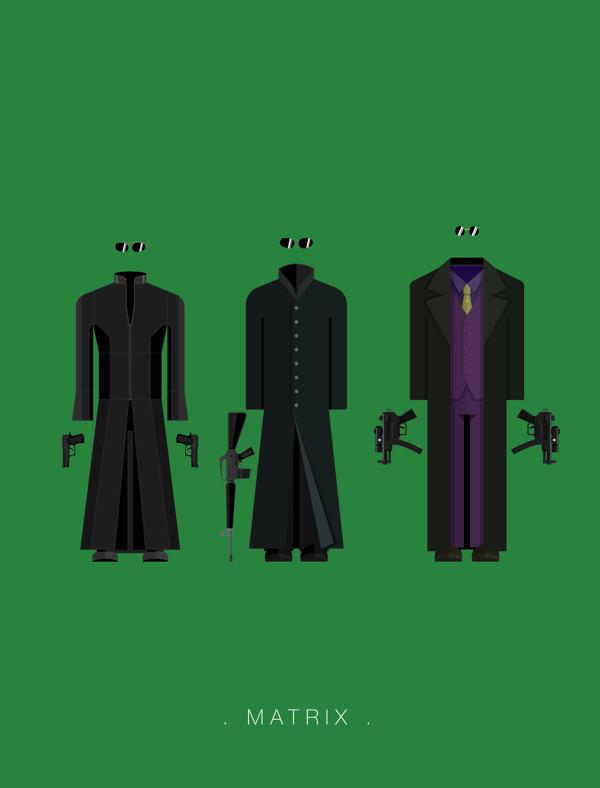 matrix-minimal-cizim-illustrasyon