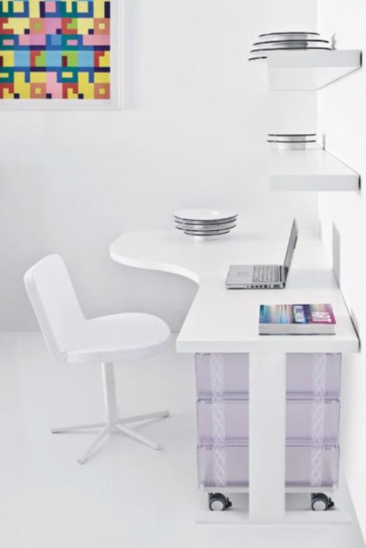 minimalist lüks ofis