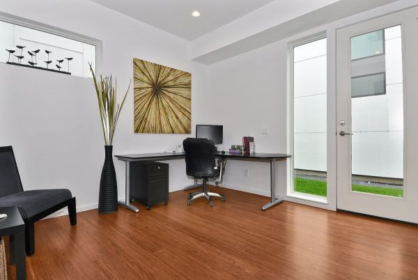 modern ev ofisi