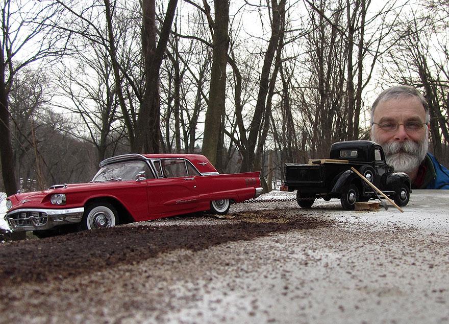 orman klasik arabalar