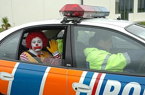 ronald-mcdonald-polis-arabasinda