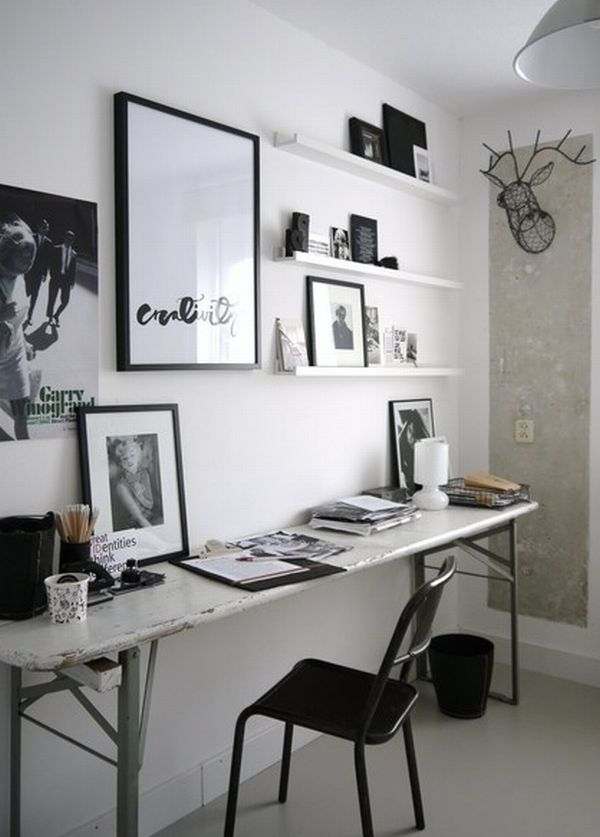 sade tasarımlı ofis