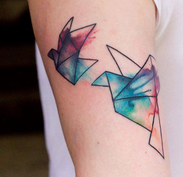 sulu-boya-origami-kus