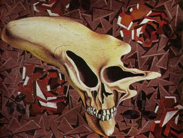 1933-Untitled - Death Outside the Head - Paul Eluard