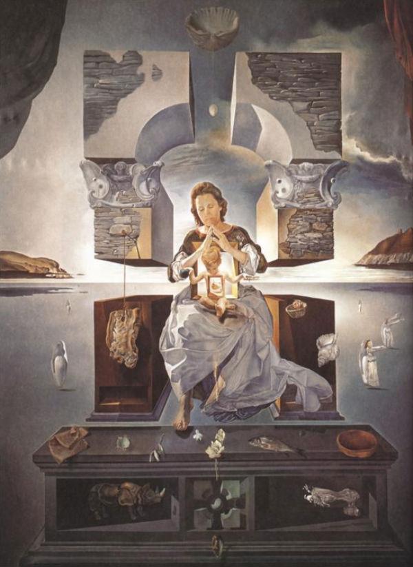 1950-The Madonna of Port Lligat