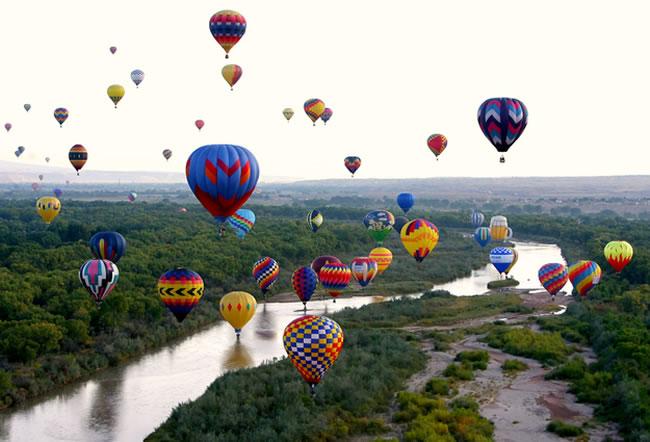 Albuquerque balon festivali