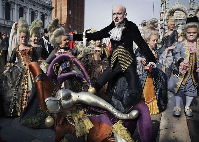 Carnevale Venedik italya