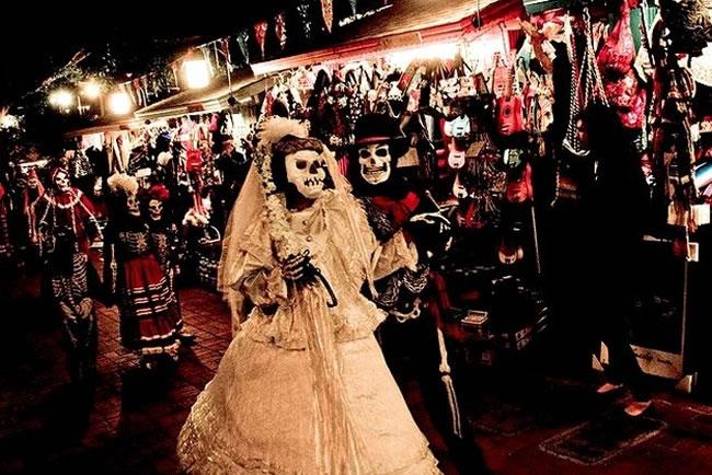 Dia De Los Muertos meksika