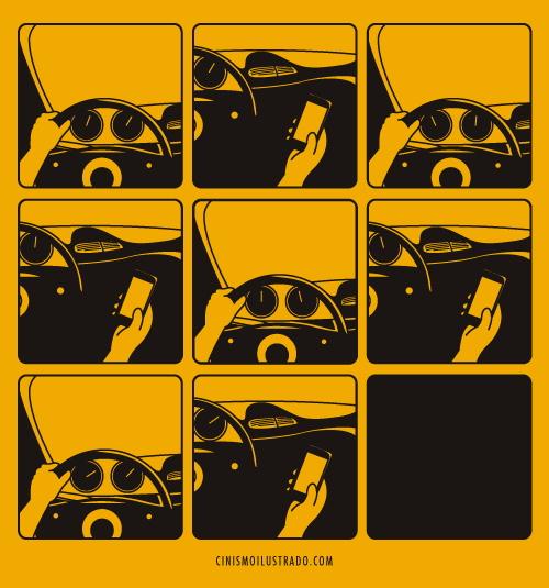 araba-kullanirken-telefona-bakmak