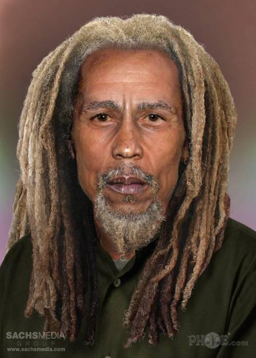 bob marley yaşlı