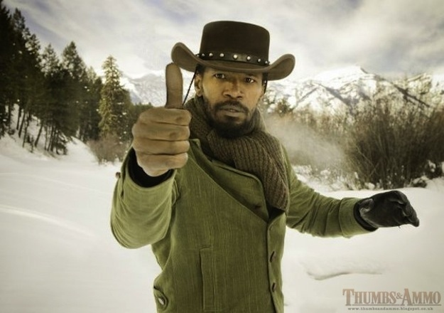 django unchained thumbs up