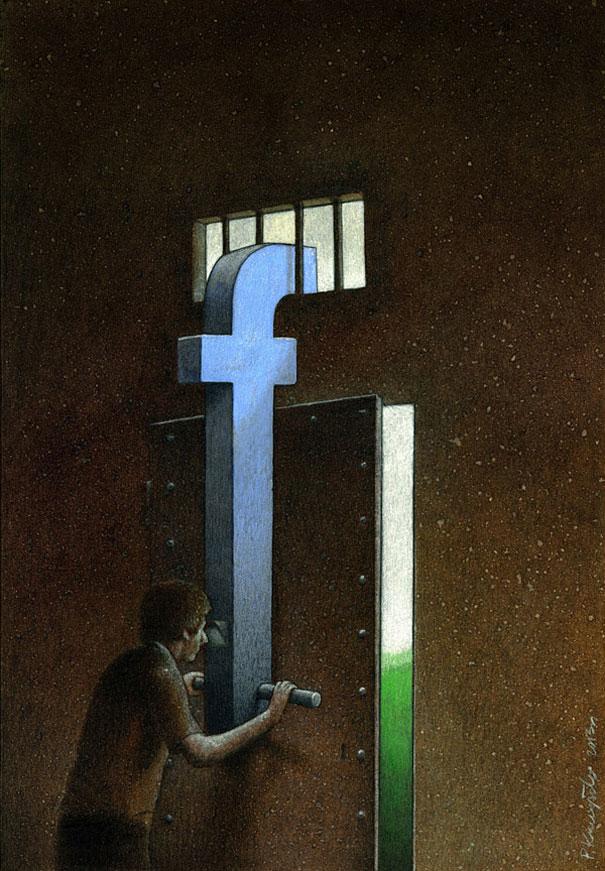 facebook-hapishanesi-illustrasyonu
