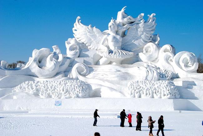 kar ve buz festivali Çin