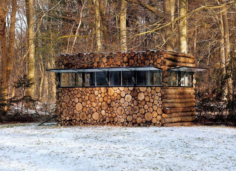 log cabin kubik ofis