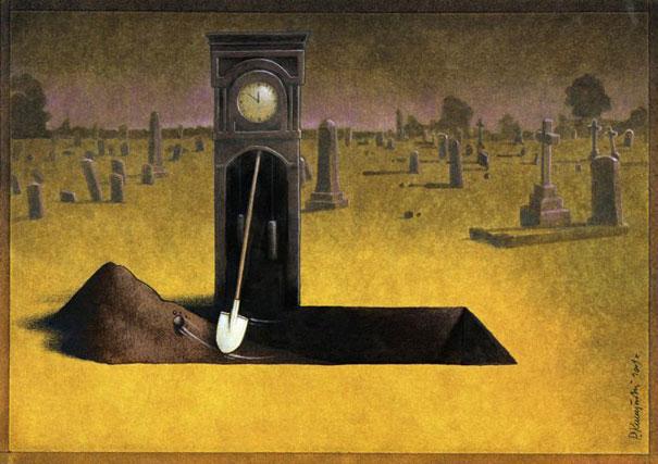 mezar-kazan-saat-kulesi-illustrasyon