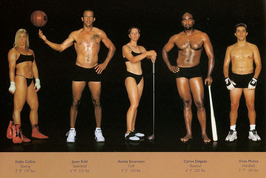 spor vücut farkı