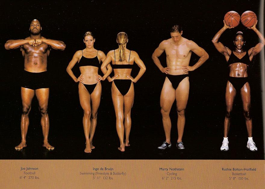 sporcu bedeni nasıl olur