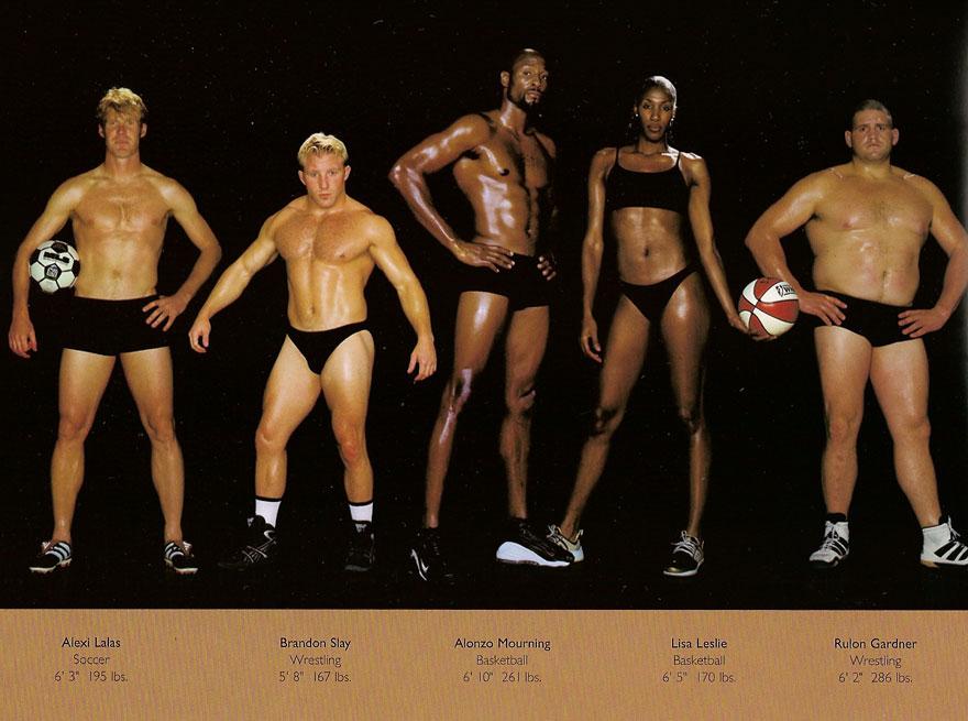 sporcu vücudu nasıl olur