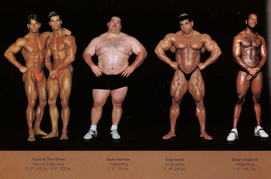 sporcu vücut tipleri