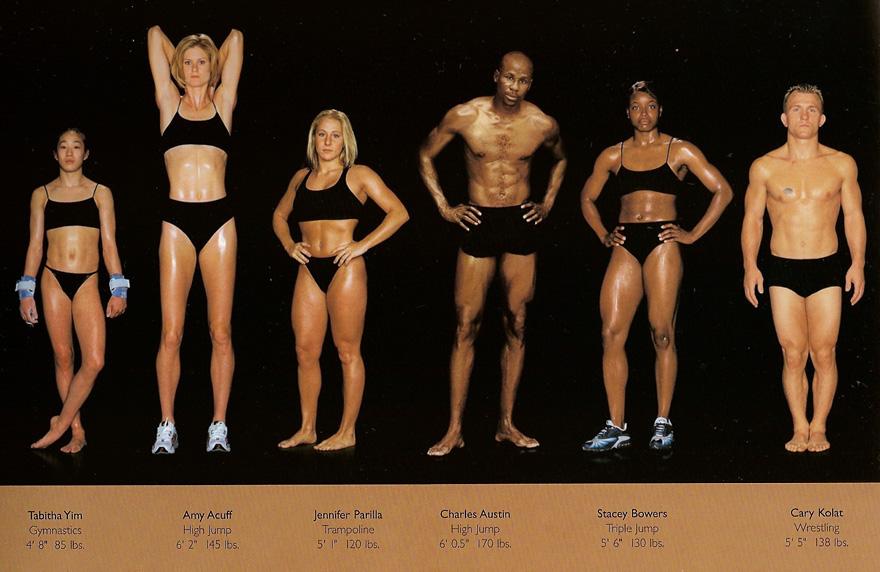 sporcuların beden farklılıkları