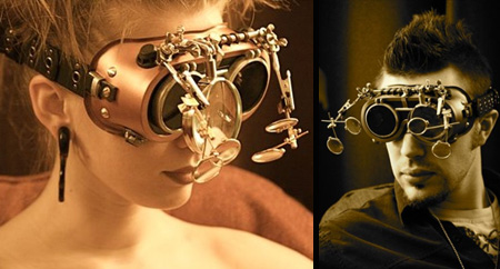 steampunk gözlük