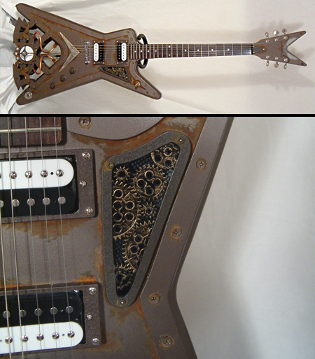 steampunk gitar