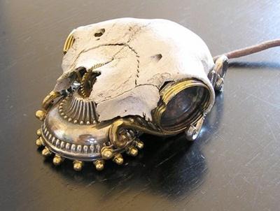 steampunk kuru kafa mouse