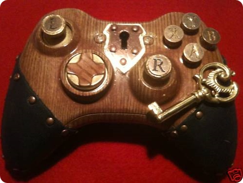 steampunk oyun konsolu