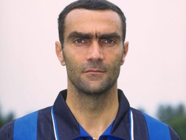 A portrait of Giuseppe Bergomi of Inter