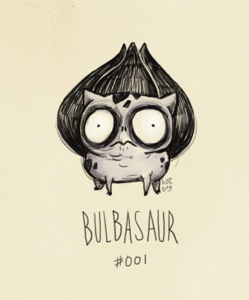 bulbasaur-pokemon-tim-burton
