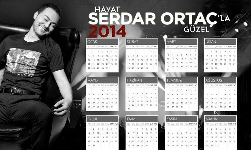 serdar-ortac-2014-takvim