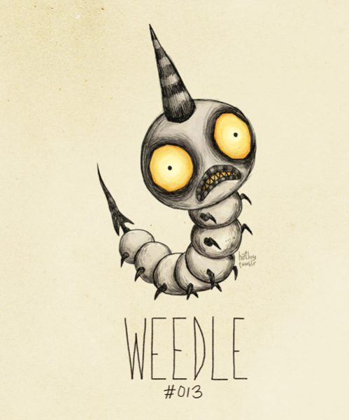 weedle-tim-burton-pokemon