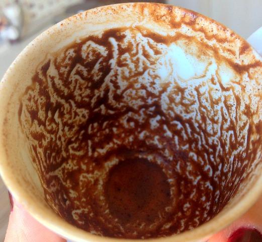 kahve falı esin