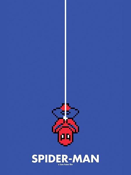 spider-man-8-bit-movie-poster