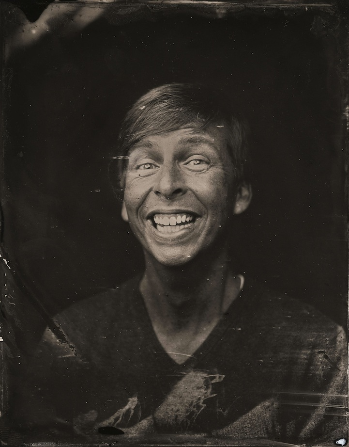 2014 Sundance TIn Type Portraits - Jack McBrayer