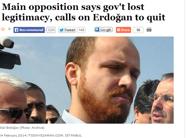 Main opposition says govt lost legitimacy  calls on Erdogan to quit  Today s Zaman  your gateway to Turkish daily news