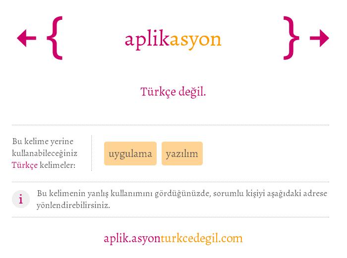 aplikasyon