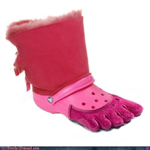 crocs uggs