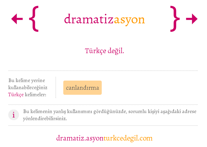 dramatizasyon