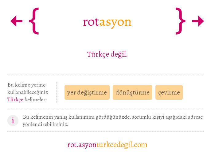 rotasyon