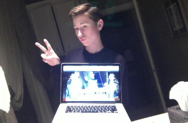 selfie-laptop