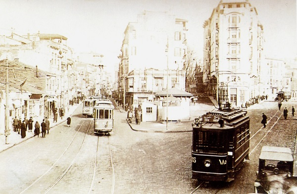 taksim-tarihi-tramvay