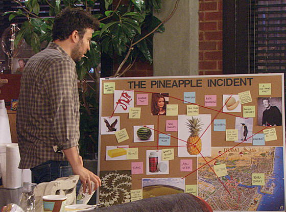 08 - himym pineapple incident