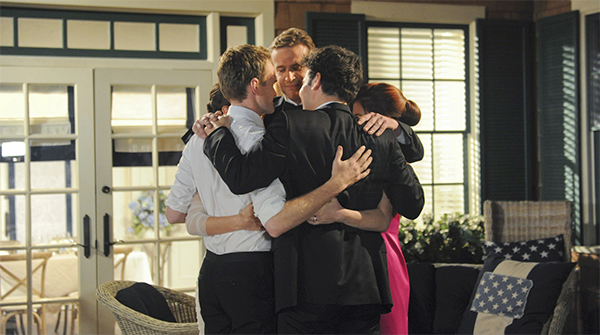 10 - himym the cast